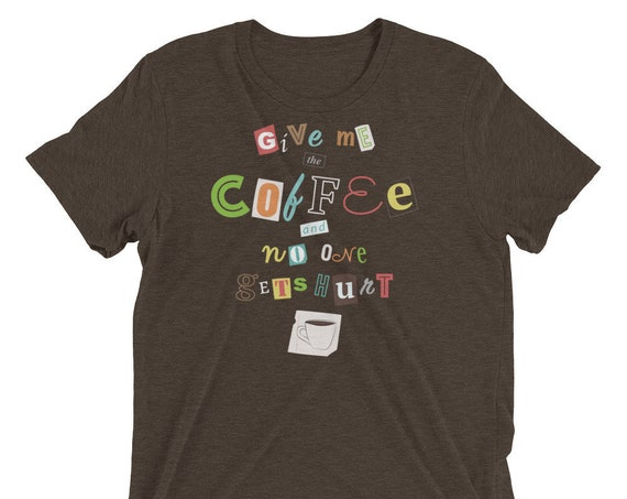 A Ransom Note for Morning - Short sleeve t-shirt