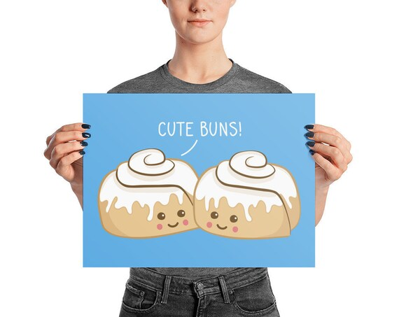 Cute Buns Poster