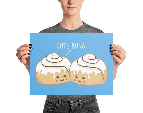 Cute Buns Poster