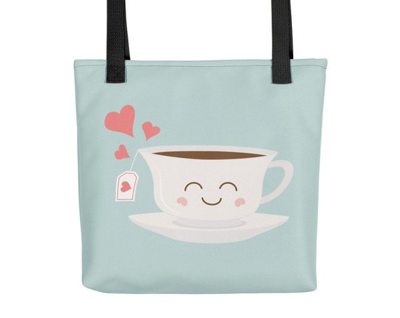Happy Tea Tote