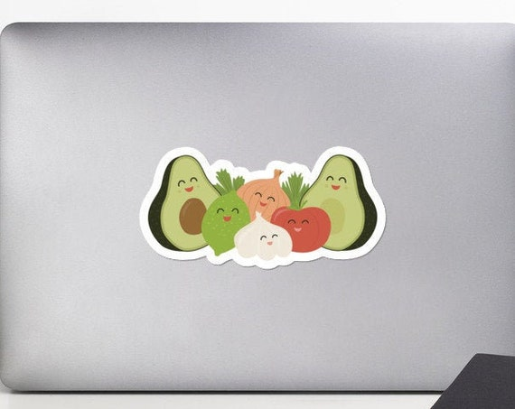 Guac and Roll Stickers