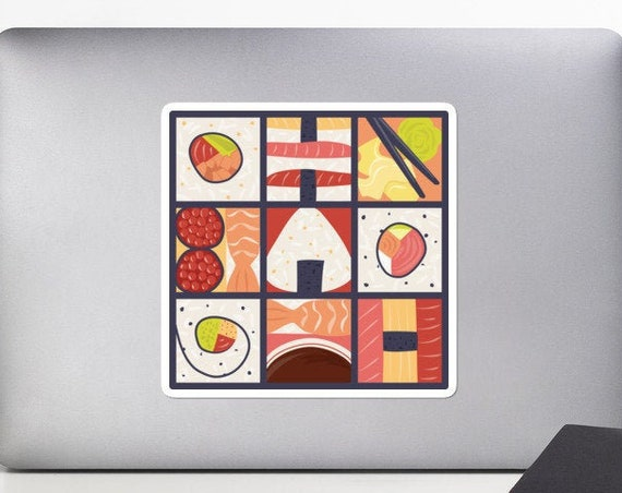 Pop Art Sushi Sticker