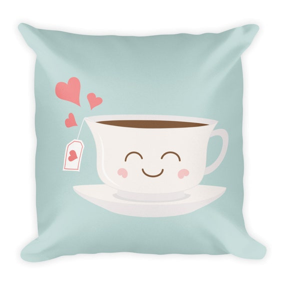 Happy Tea Pillow