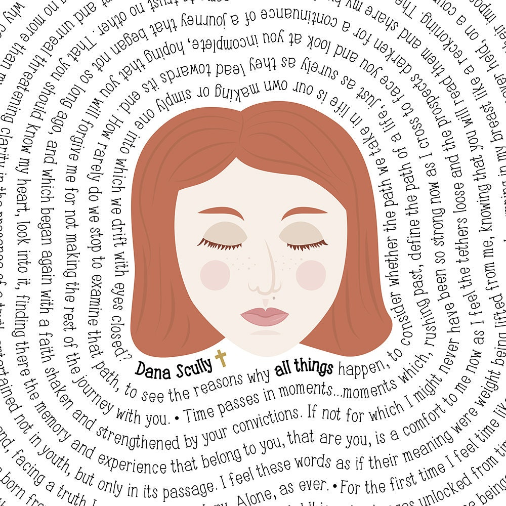 Dana Scully The X Files Quotes