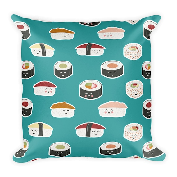 Happy Sushi Pillow