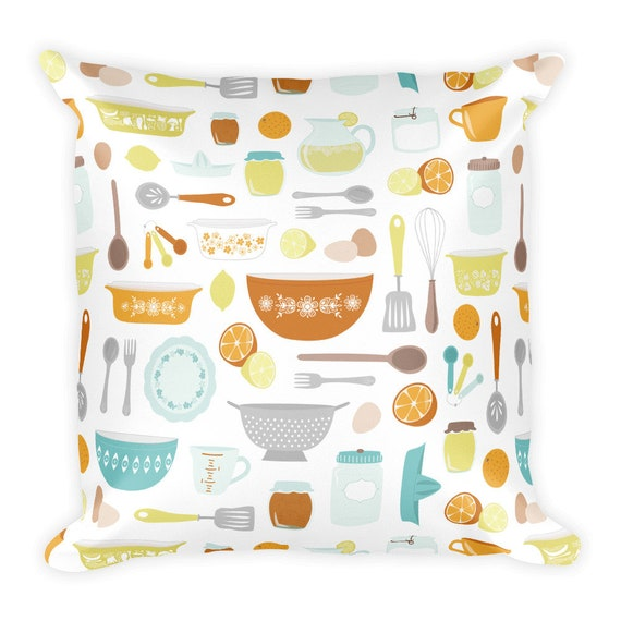 Citrus Kitchen Pillow