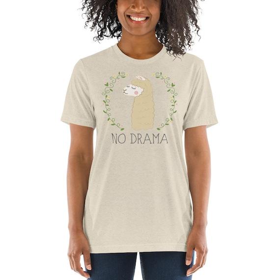 No Drama Llama - Short sleeve t-shirt