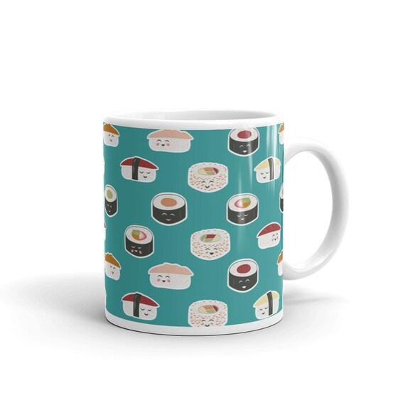 Happy Sushi Mug
