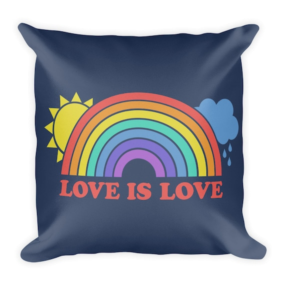 Love is Love Square Pillow