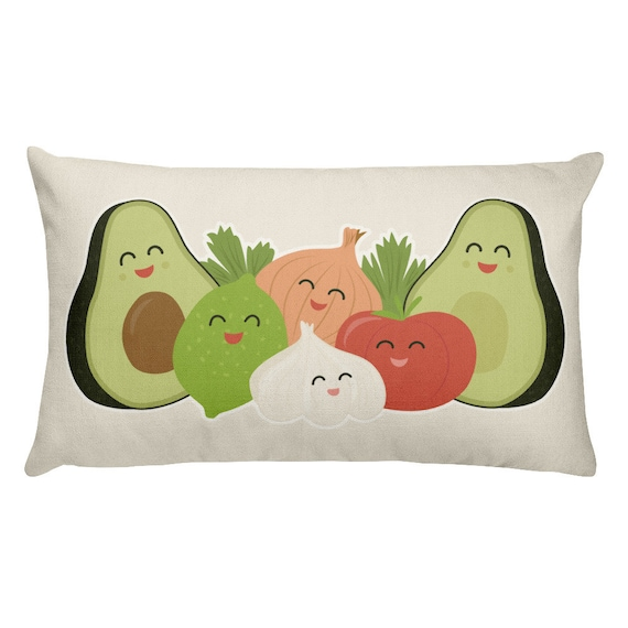 Guac & Roll Rectangular Pillow