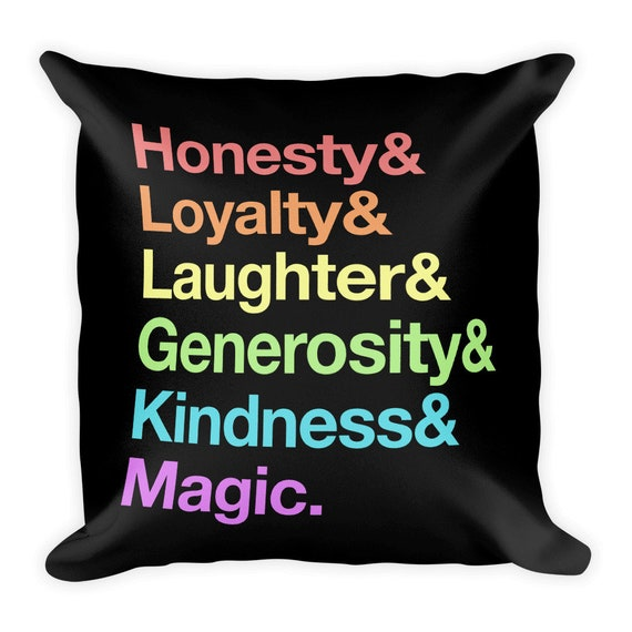Elements of Harmony Pillow
