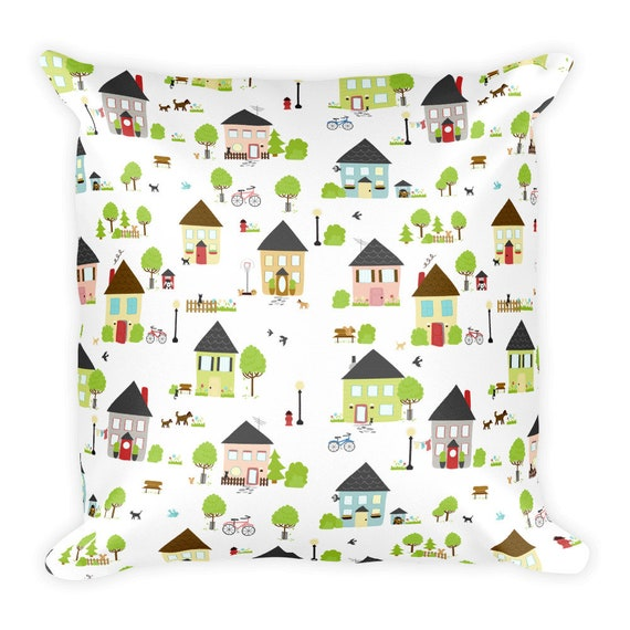 Little Boxes Pillow