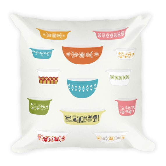 Vintage Pyrex Pillow