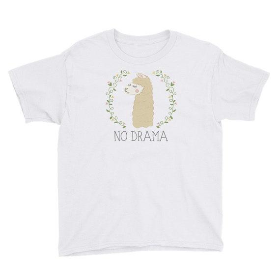 No Drama Llama Kids T-Shirt