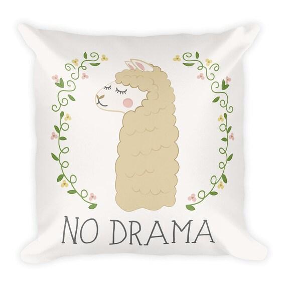 No Drama Llama Pillow