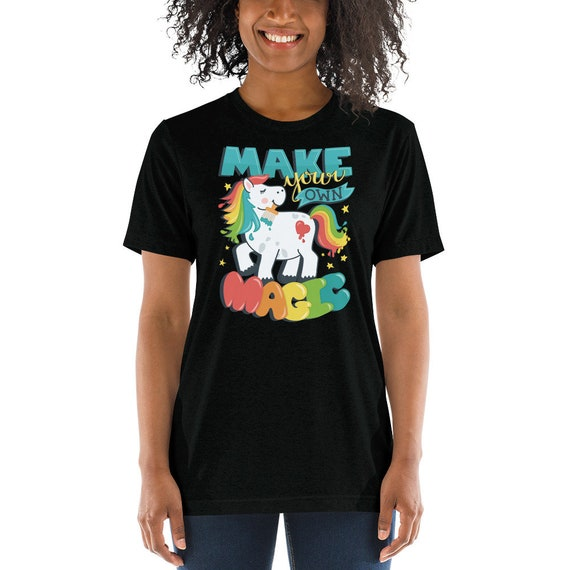 Make Your Own Magic - Short sleeve t-shirt