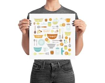 Citrus Kitchen Poster