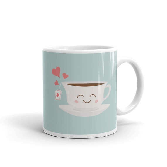 Happy Tea Mug