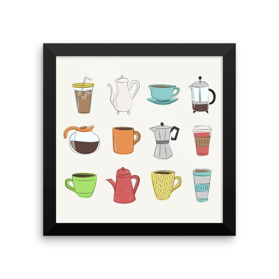 Coffee Lovers Framed Poster
