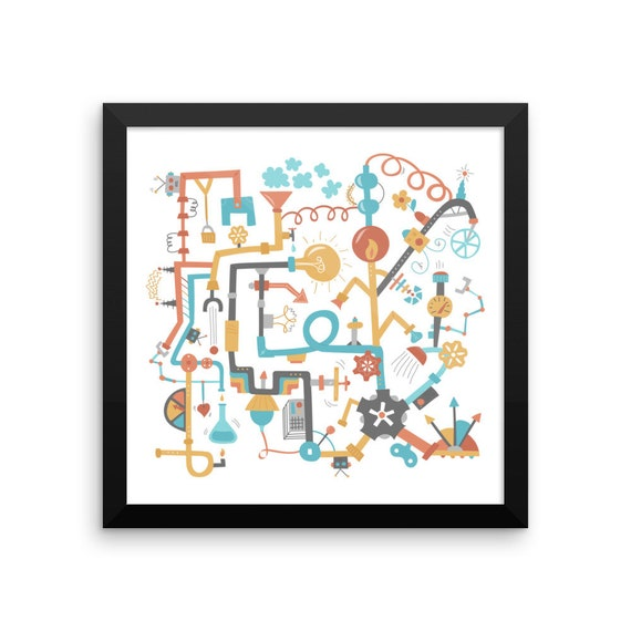 Pipe Dreams Framed Poster