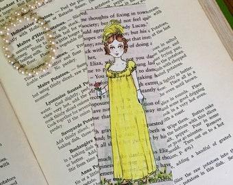 Jane Austen Pride and Prejudice - Lydia Bennett Bookmark