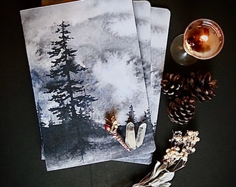 A5 Notebook - bullet journal - Wisdom Of The Forest