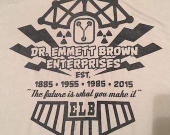 Doctor Emmett Brown Enterprises T-Shirt