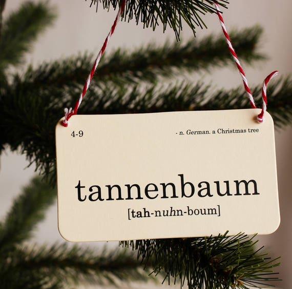 Christmas flashcard ornament set nostalgic holiday decor | Etsy