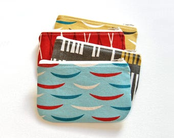Coin Purse, Small Zipper Pouch, Jessica Jones Outside Oslo, Choice of Colors, Ready To Ship