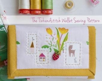 Tinkandstitch Wallet digital PDF sewing pattern