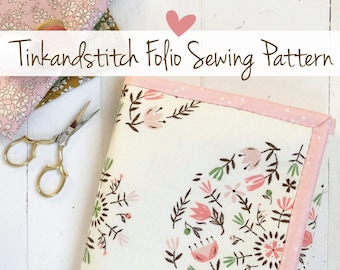 Tinkandstitch Folio digital PDF sewing pattern, organizer
