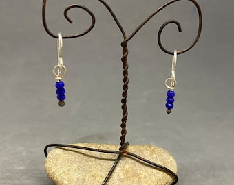 Royal Blue dangle earrings