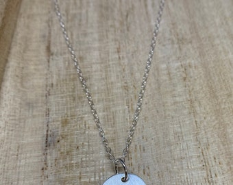 LOVE sterling silver layering necklace