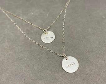 MAGIC sterling silver layering necklace