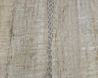 FIERCE...sterling silver layering necklace