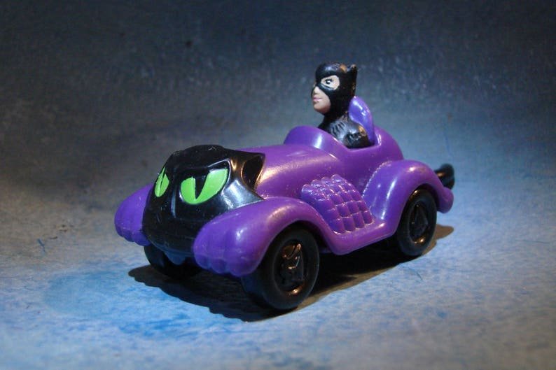 Batman Vintage 1992 Véhicule Catwoman Returns Happy Meal yYbf67g