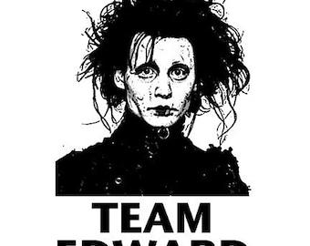 Team Edward Scissorhands T Shirt