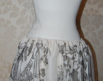 SALE Limited edition Printed Skirt