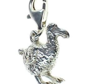 Welded Bliss Sterling 925 Silver Charm Dodo Bird Clip Fit WBC1136