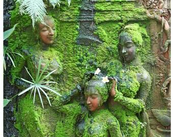 Green Ladies Digital Download Print