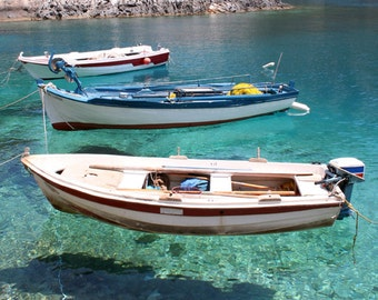 Three Fishing Boats - Digital Download File
