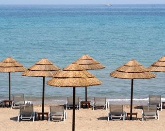 Beach Umbrellas, Zante - Digital Download Photograph
