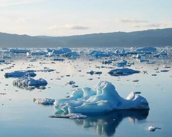 Iceberg Bay, Iceland - Digital Download