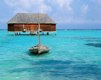 Honeymoon Water Villa, Maldives - Digital Download