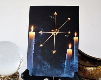 Pendulum Board featuring Glowing Candles