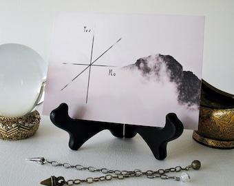 Pendulum Board featuring a Mountain in the Clouds