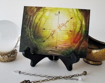 Pendulum Board featuring a Mysterious Woodland Path