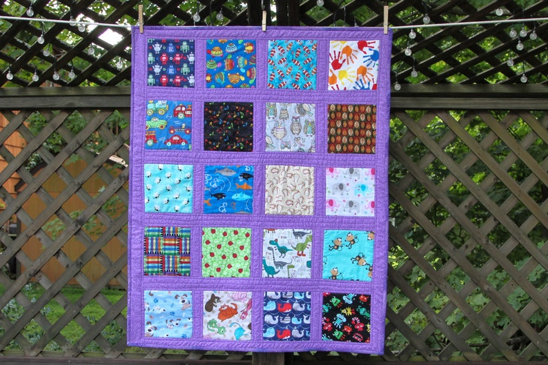 I Spy Quilt by Made Marion image 0