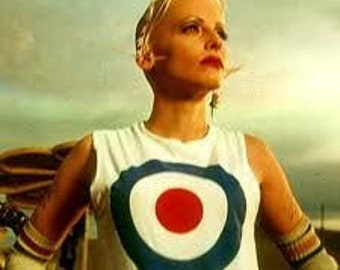 Tank Girl MOD Bullseye Unisex T-Shirt