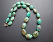 Natural Turquoise Necklace with 14k Gold Filled